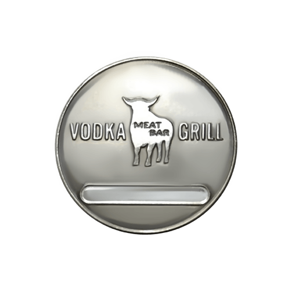 Бейдж травление Vodka Grill