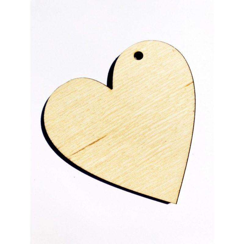 Брелок в форме сердечка