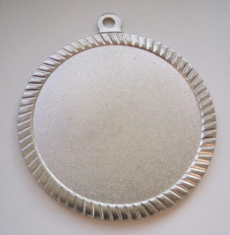 Медаль 60 мм Серебро 12грн.